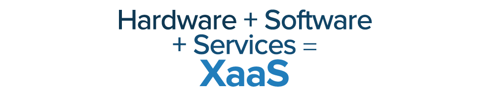 Hardware + Software + Services = XaaS