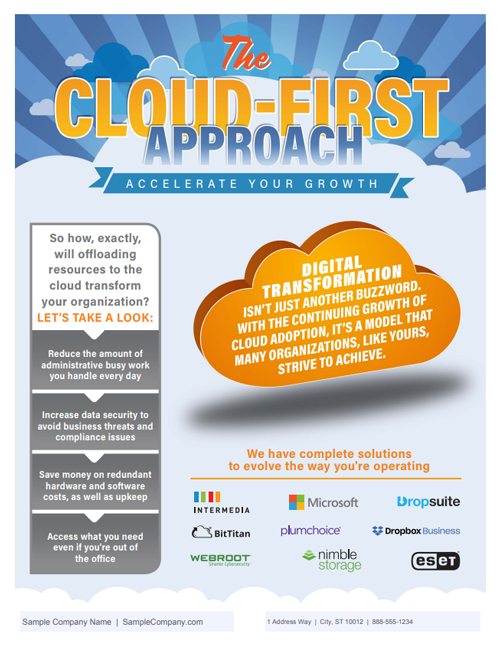 The Cloud-First Approach