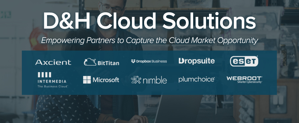 D&H Cloud Solutions - Empowering Partners to Capture to the Cloud Market Opportunity