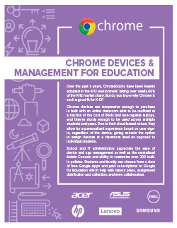 Chrome Devices & Management for Education