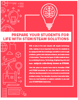 Prepare Your Students for Life with STEM/STEAM