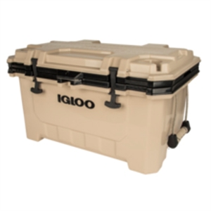 Igloo 70 QT Lockable Insulated Ice Chest Cooler with Carry Handles image