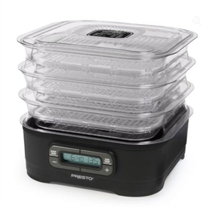 Presto Digital Electric Food Dehydrator- 6 Tray