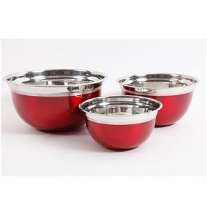 O Rosamond Mix Bowl Set Rd 3pc