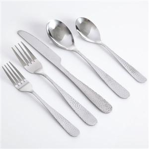 GH Hammered Flatware 46pc Set