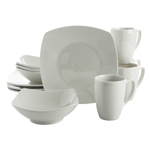 Zen Buffetware DW 12pc White