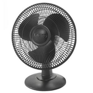 "12"" Table Fan 3 Speed Black"
