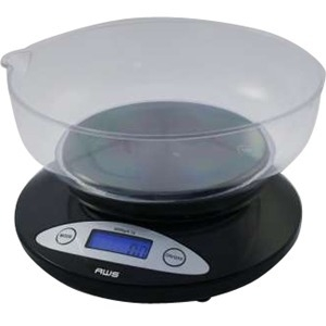 Digital Kitchen Bowl Scale Blk