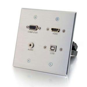 Decora HDMI USB Dngl FF Wp Wht