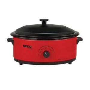 Nesco 6qt Roaster Oven Red