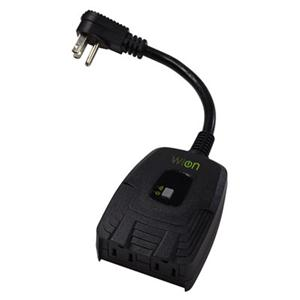 WW Outdoor WiFi Outlet Black main image