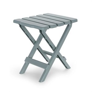 Gray Regular Adirondack Portable Outdoor Folding Side Table image