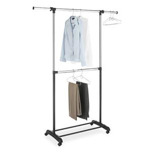 Adjustable Garment Rack 2 Rod