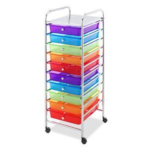 10 Drawer Cart Multi Color