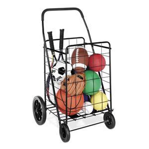 Deluxe Rolling Utlity Cart Blk