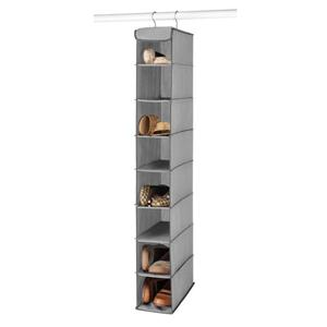 HANGING SHOE SHELVES GREY