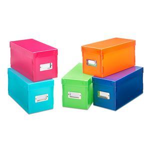 Plastic Storage Boxes 5pc