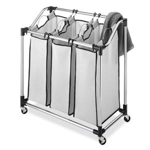 Chrome Laundry Sorter Mesh Bag