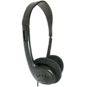 Lab Headphones Black Foam Pads