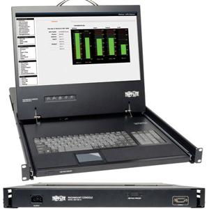"1U KVM Console w 19"" LCD"