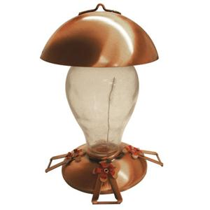Gardman Copper Glass Hummingbird Feeder image