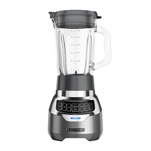 BLACK+DECKER  PowerCrush Digital Quite Blender- Silver main image