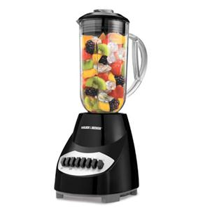 BD 10Spd Blender Black Plastic