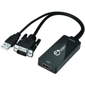 VGA and USB Audio to HDMI Conv