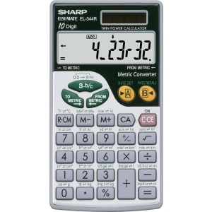 Sharp Metric Conversion Calc