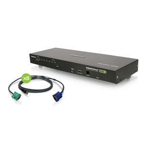 8 Port KVM Switch USB