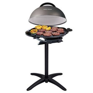 George Foreman® Indoor/Outdoor 15 Serving Domed Electric Grill, Gun Metal main image