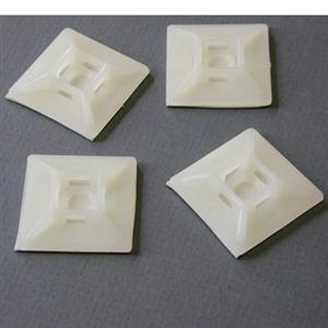 Nylon Cable Tie Mounts 100 Pkg