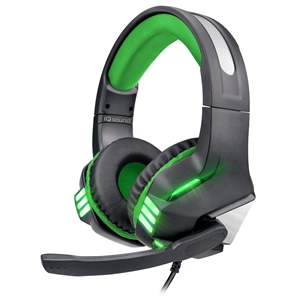 IQSound Gaming Headset Green