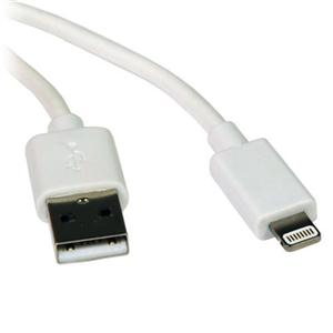 3ft Lightning to USB White