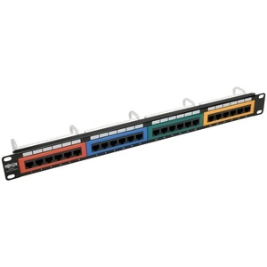 24Port Cat5 5e Patch Panel Cld