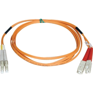 2m Duplex LC SC 50 125 Fiber