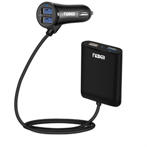 Front Back Seat Car Charger