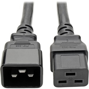 2' AC Power Cord, C19/C20, 25