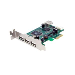 4 Port LP PCIe USB Card
