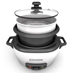 BD 6c Rice Cooker Wht