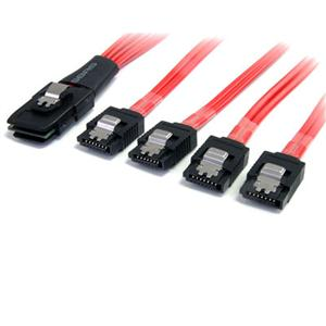 SAS Cable SFF8087 to 4x SATA