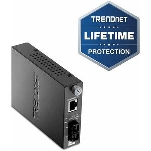 TRENDnet TFC-110MSC 10/100B-TX to 100B-FX MM Convr