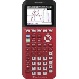 TI84 Plus CE Radical Reds