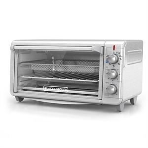 Black and Decker Extra Wide Crisp 'N Bake Air Fry Toaster Oven image