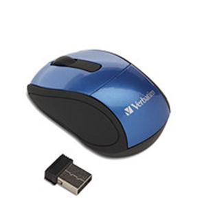 Wireless Mini Travel Mouse Blu