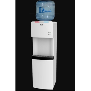 Hot Cold Water Dispenser White