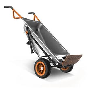 AEROCART 8-IN-1 YARD CART / WHEELBARROW / DOLLY image