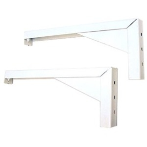 "12"" L Mounting Brackets White"