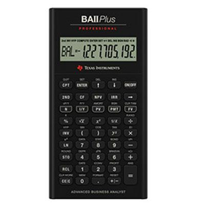 Texas Instruments TI BA II Plus Pro Calculator IIBAPRO/CLM/4L1/A at Sears.com