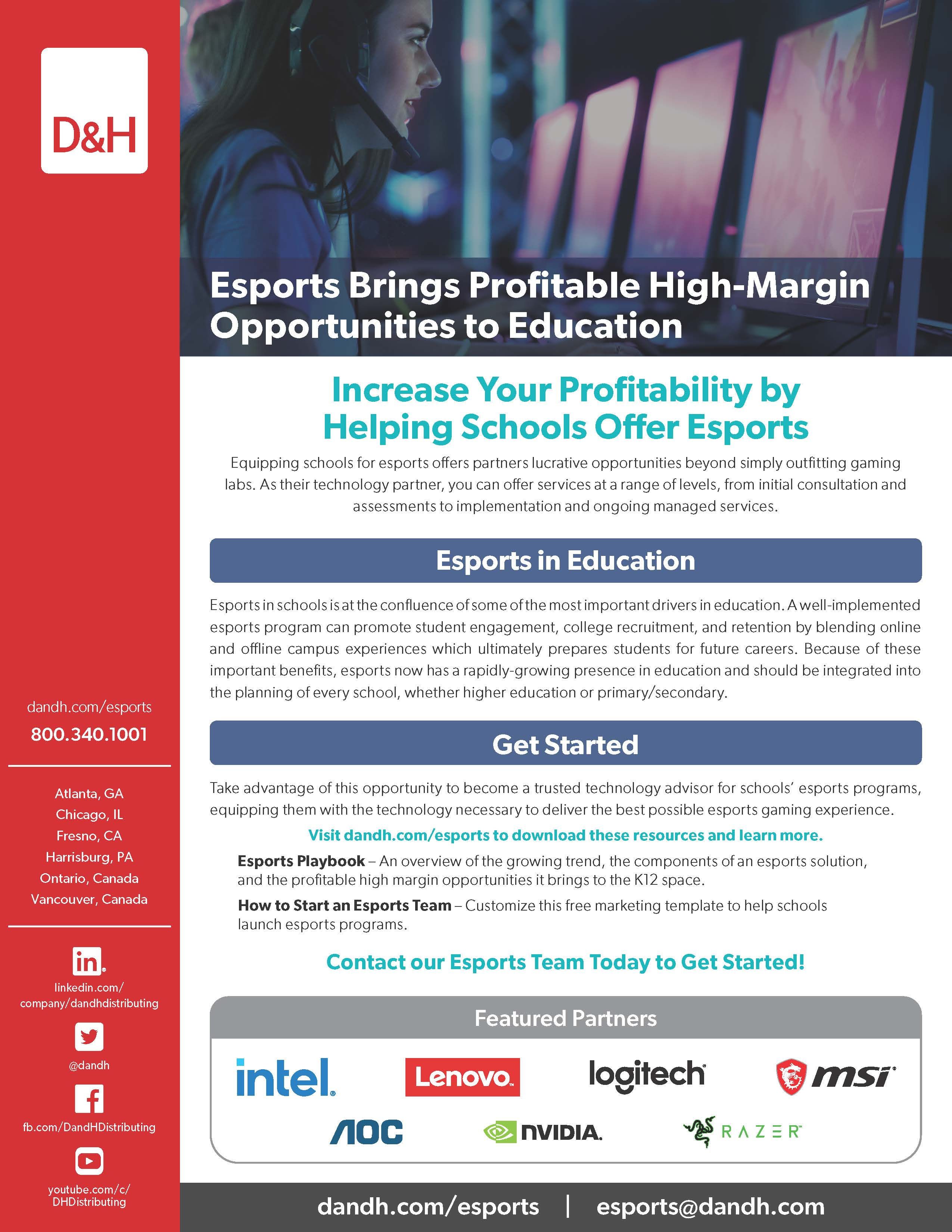 Increase Your Profitability by Helping Schools Offer Esports